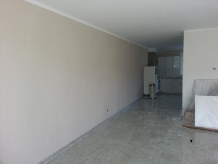 Slaapkamer Plafond Kleur : ... pleisterwerk woonkamer wanden en ...