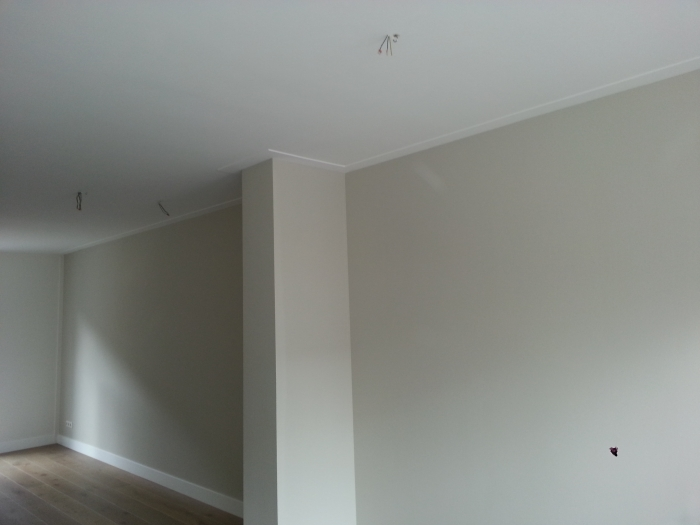 Badkamer Plafond Latex : Projecten